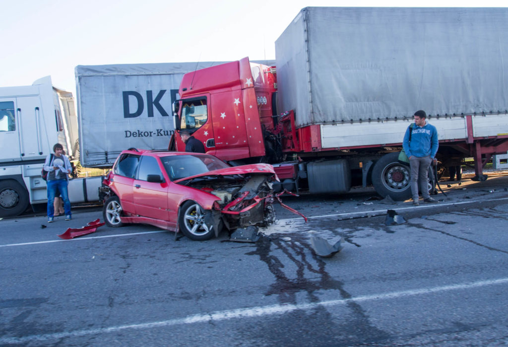 Do Not Admit Fault After a Truck Accident